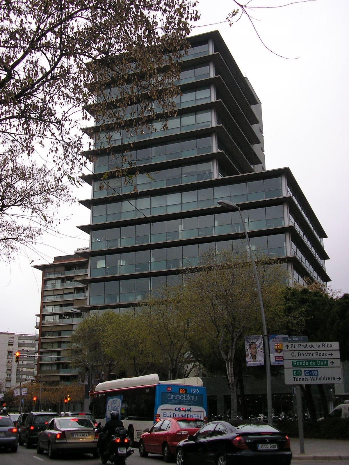 Proyecto oficinas en barcelona