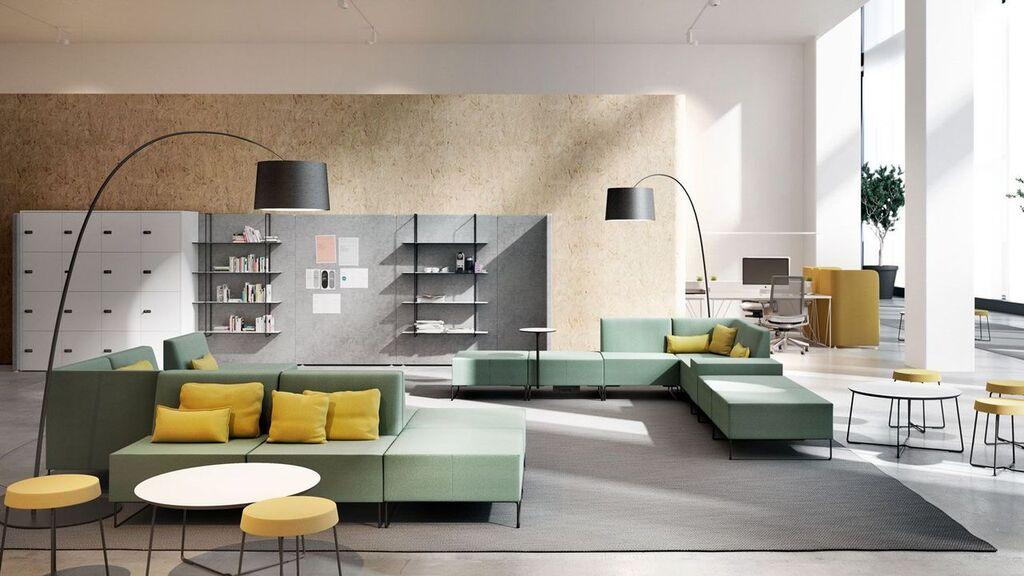 Distribución mobiliario de oficina