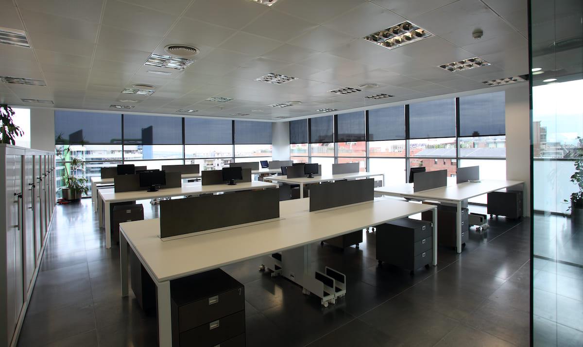 gestion de espacios de trabajo