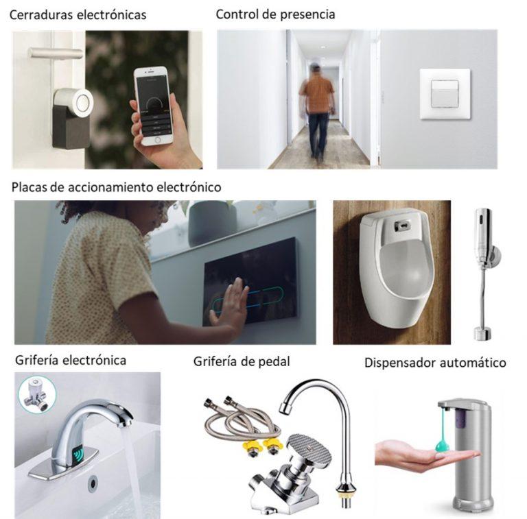 automatizacion elementos uso comun